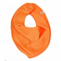 thumb-Drool bib, bandana bib orange-1