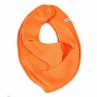 thumb-Kwijlslab, bandana slab oranje-1
