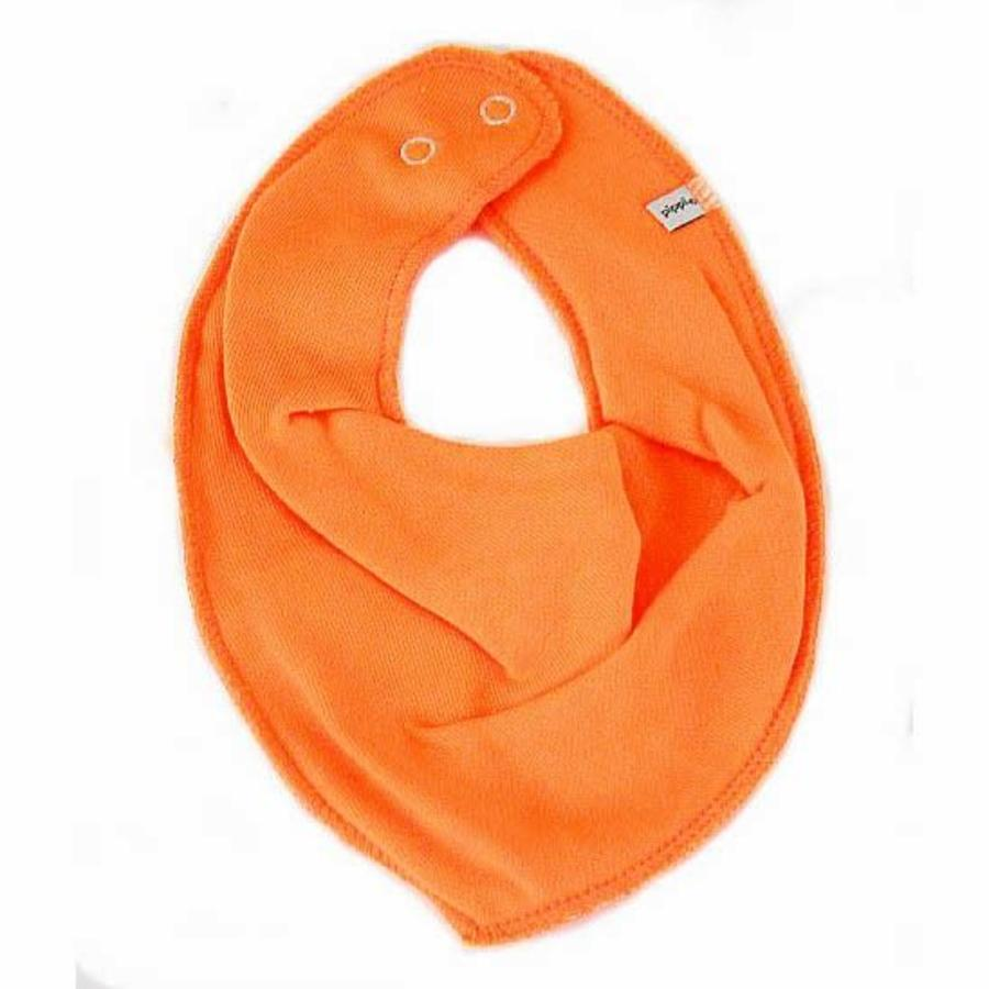 Drool bib, bandana bib orange-1