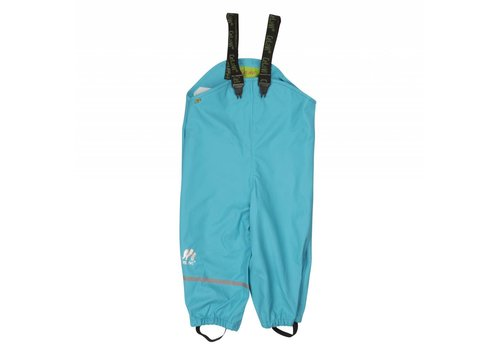 CeLaVi Blue rain pants, waterproof dungaree