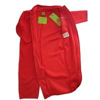 thumb-Fleece suit navy, red overalls-3