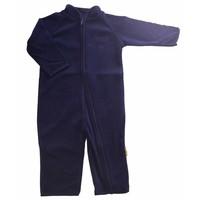 thumb-Fleece pak, overall in navy blauw  68-104-2