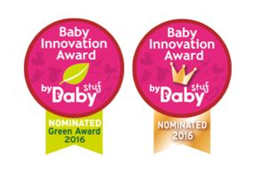 Baby innovation award en green award