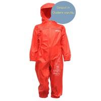 Children's rainsuit Puddle, red, breathable and lightweight