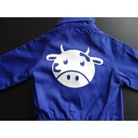 thumb-Customise your overall with the picture of a cow-2