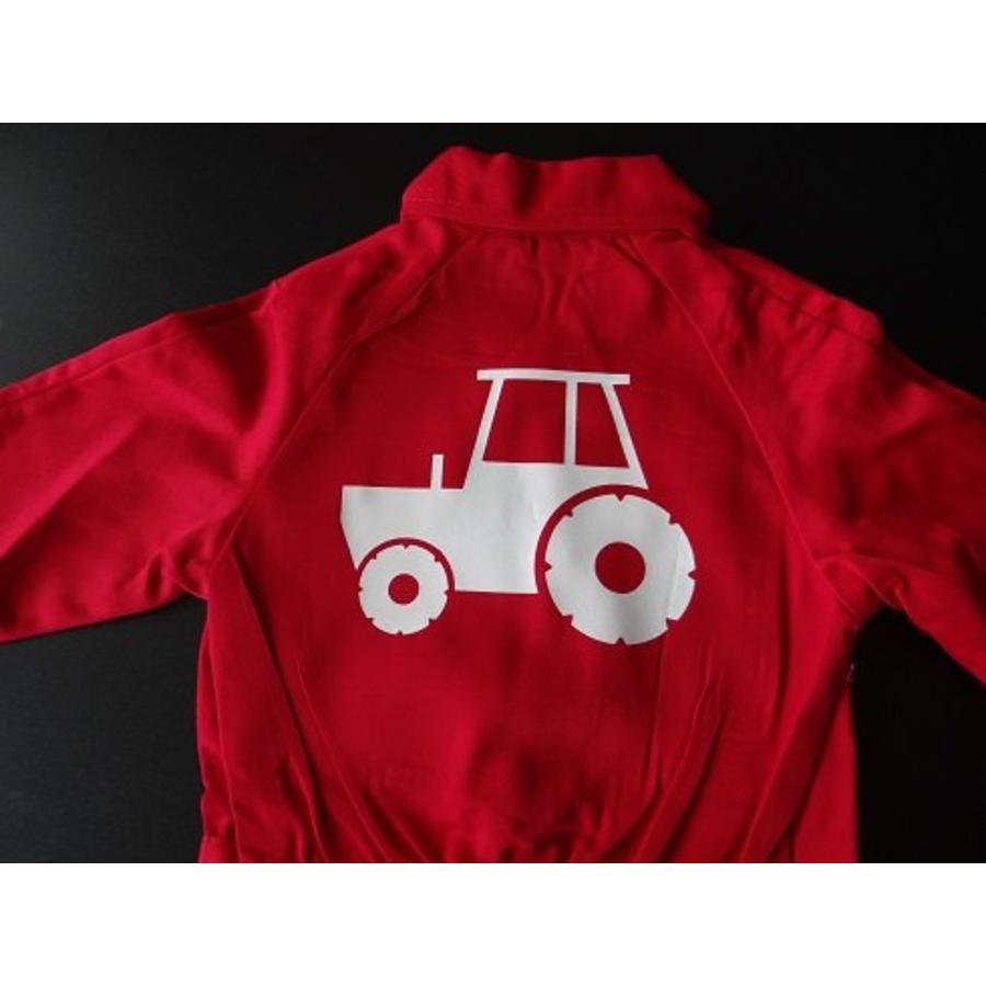 Overall met trekker, tractor-3