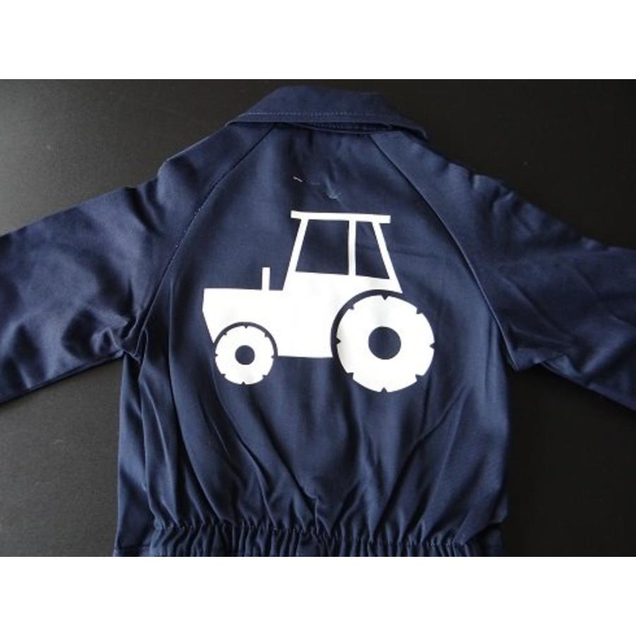 Overall with tractor, tractor-5