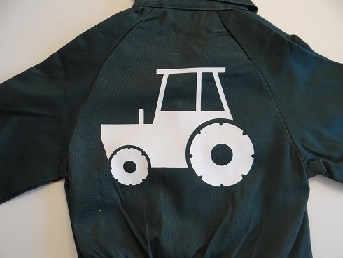 overall met tractor, trekker