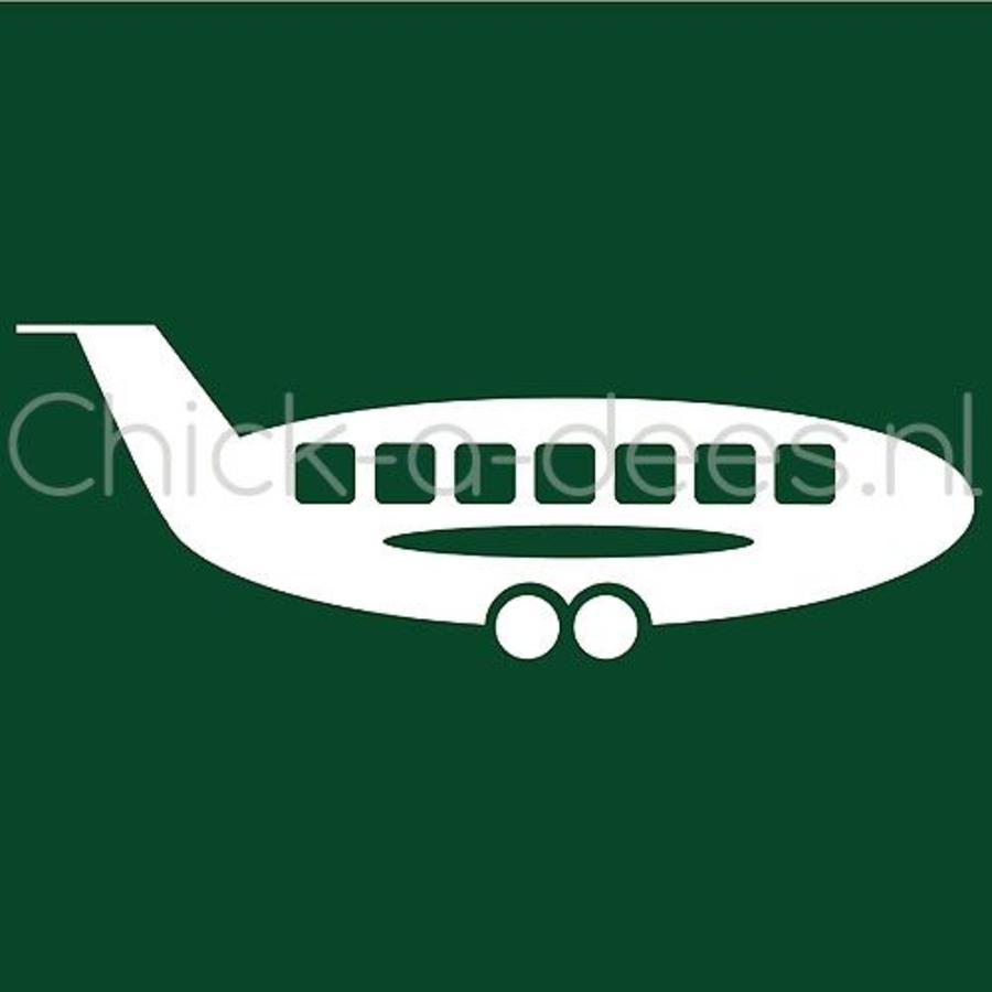 Vliegtuig print voor overall-3