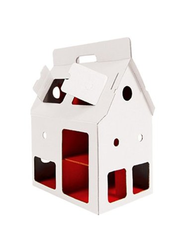 Studio Roof Dollhouse Mobile Home, white, Kidsonroof