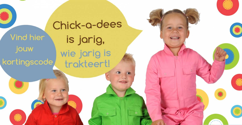 Het is feest! Chick-a-dees bestaat 5 jaar!