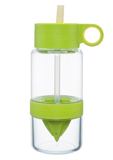 Lime groene waterfles Citrus zinger mini