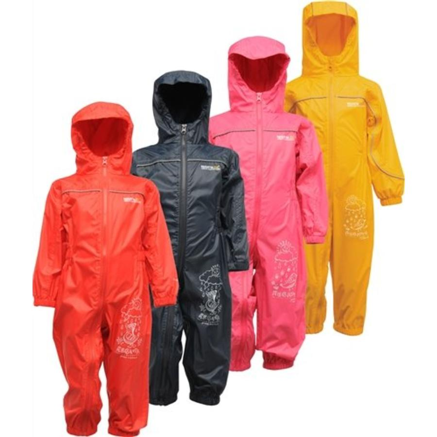 Kinderregenpak Puddle, Oxford blue , ademend en lichtgewicht