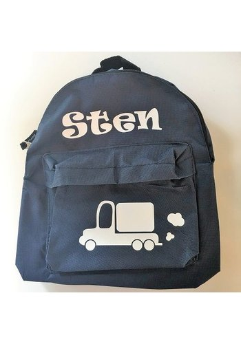 Backpack with name print and Truck