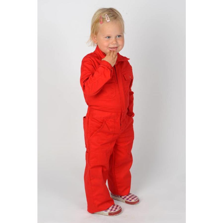 Kinderoverall rood of korenblauw-3