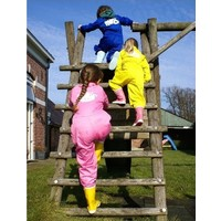 Roze overall voor kinderen