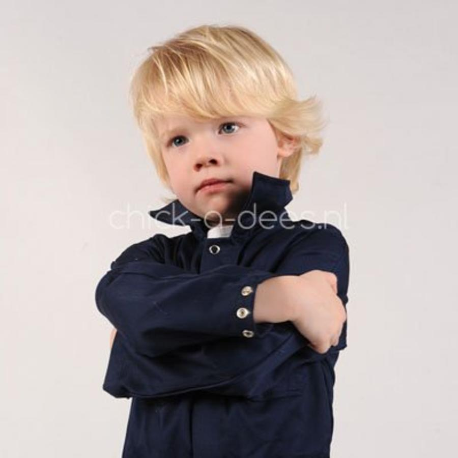 Dark blue overalls with name or text printing-4