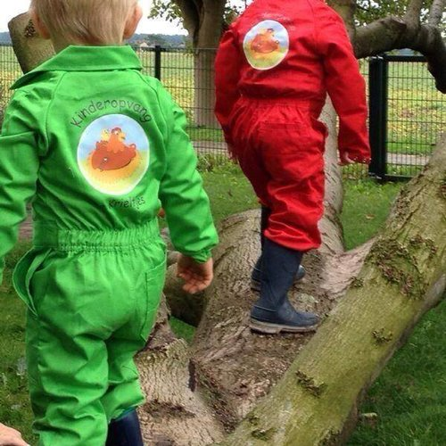 Customized children's overall with your own design or logo