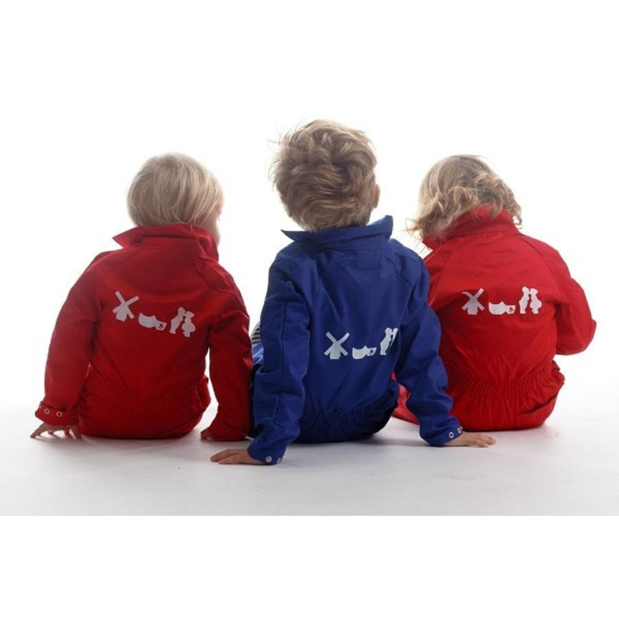 Kinderoverall met Hollands motief