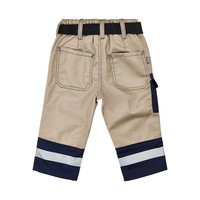 thumb-Children's trousers with pockets and knee patches size 80-2