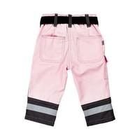 thumb-Roze kinder werkbroek met zakken en kniestukken-2