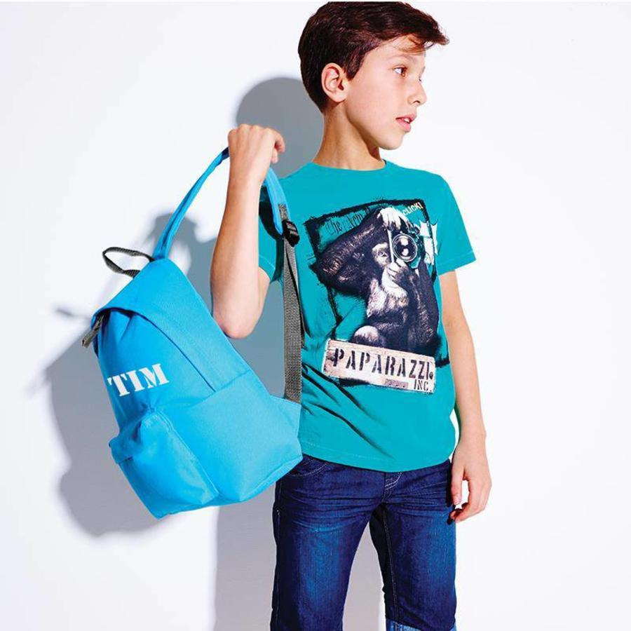 Junior backpack with Monogram printing and name-6