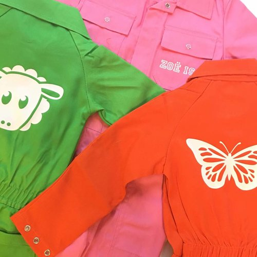 Customized overalls