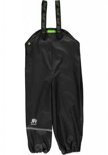 CeLaVi Black rain pants, waterproof dungaree