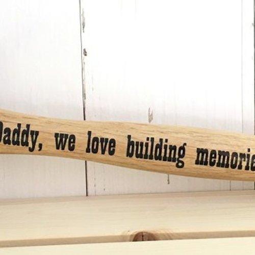 Een bedrukte hamer; origineel cadeau voor Vaderdag