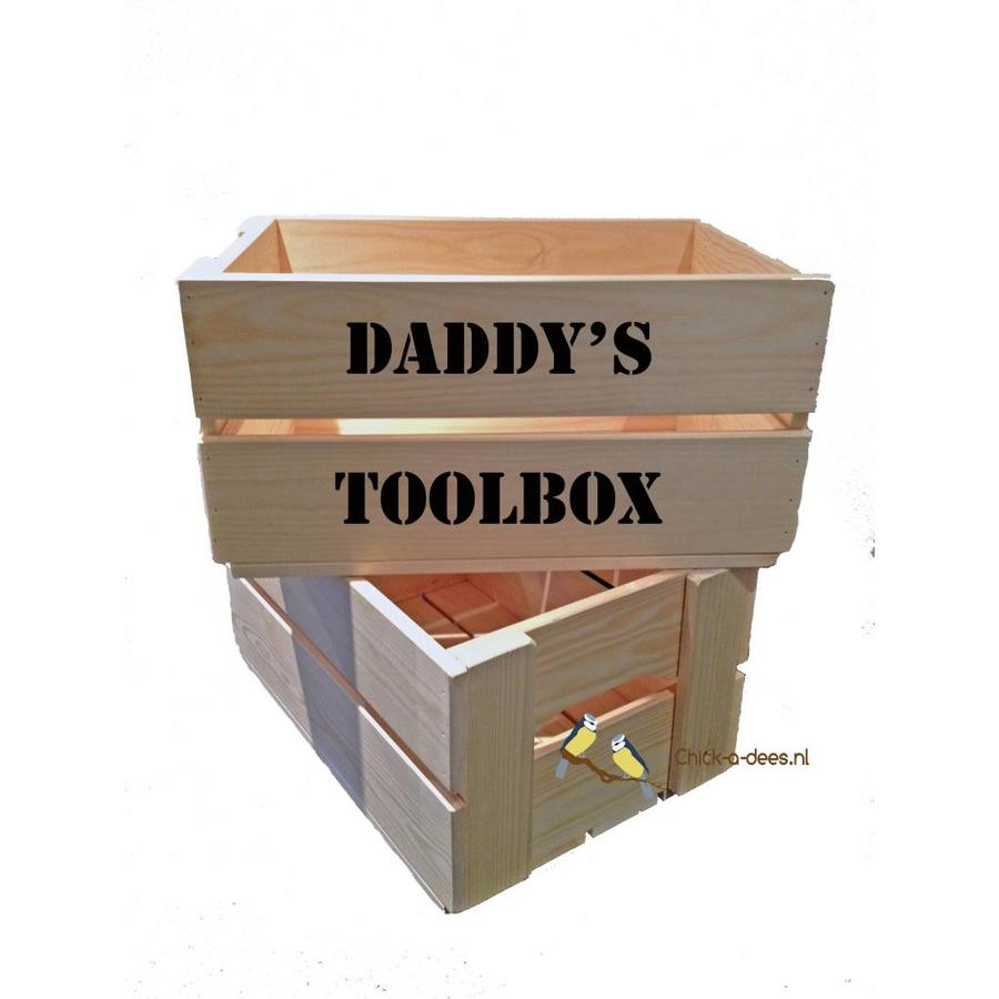 Toolbox father's day with your own text-1