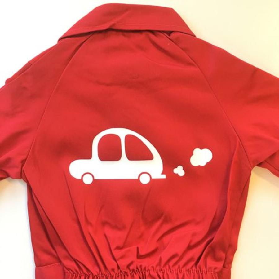 Customise your overall with the picture of a car-1