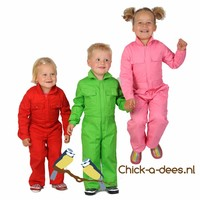 thumb-Chilcdren's coverall with farm animals-3