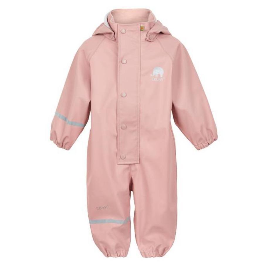 One-piece children's raincoat: Misty Rose
