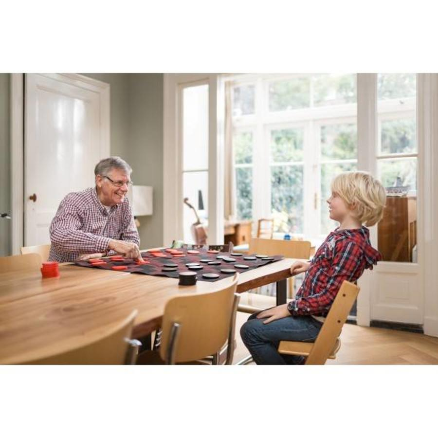 Checkers game set for indoors and outdoors-2