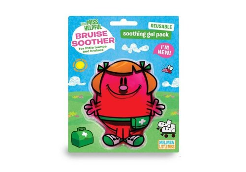 Mr. Men & Little Miss Coldpack Little Miss Helpfull Bruise Soother