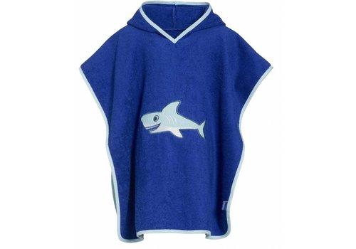 Playshoes Beach poncho, bath poncho - Shark