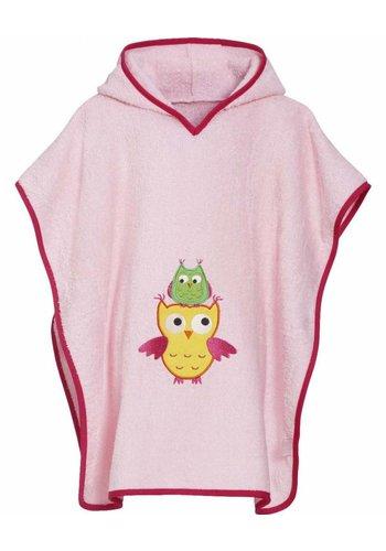 Playshoes Beach poncho, bath poncho - owl