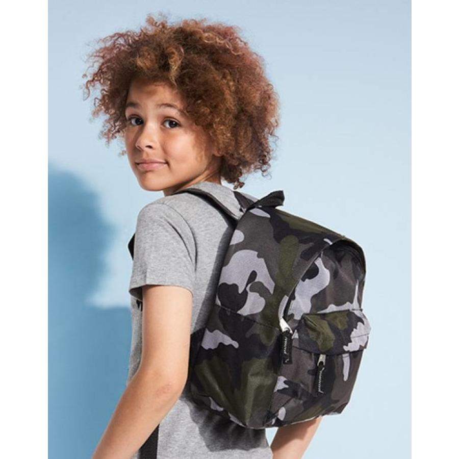 Camouflage backpack with name printing-3
