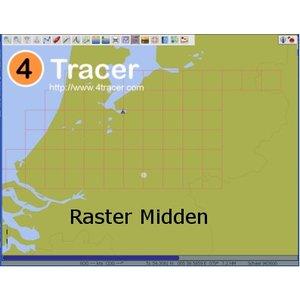 Waterkaarten Raster Midden