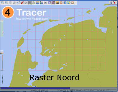Raster Kaarten Noord