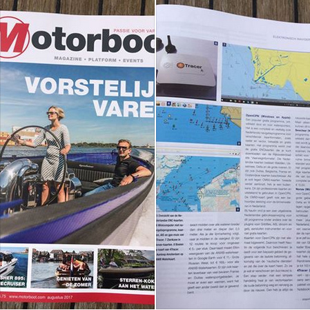 4Tracer Pi in Motorboot Magazine