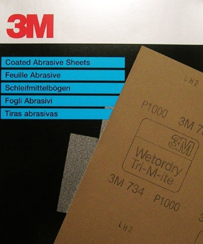 3M 3M waterproof schuurpapier (per vel)