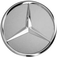 Mercedes Benz Naafdop, Ster opstaand