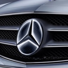 Mercedes Benz Mercedes-Benz ster Verlicht