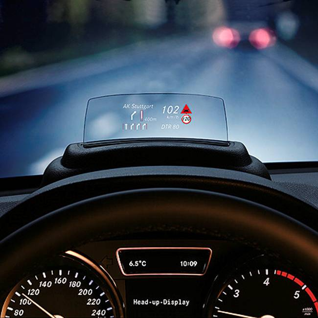Westfalia reviews for Mercedes benz heads up display
