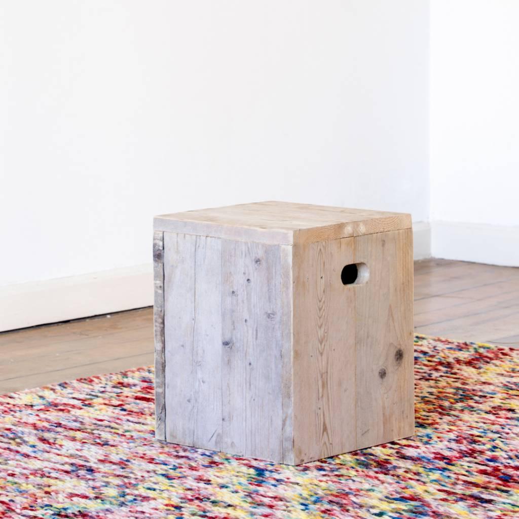 pure wood design kruk steigerhout nordic living. Black Bedroom Furniture Sets. Home Design Ideas