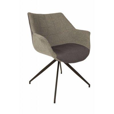 Zuiver Doulton stoel - grijs