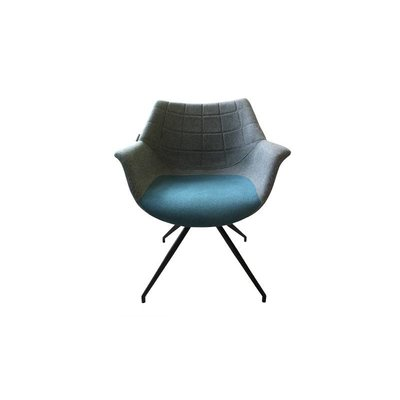 Zuiver Doulton stoel - grijs/blauw