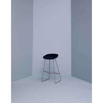HAY About a Stool AAS39 bekleed met RVS frame