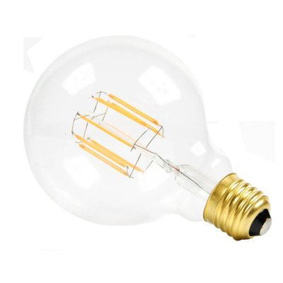 NUD LED globe clear 95 mm